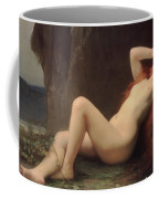 Mary Magdalene In The Cave Coffee Mug by Jules Joseph Lefebvre
