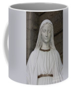 Mary Statue At Sacred Heart In Tampa Coffee Mug