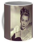Mary Stuart, Vintage Actress Coffee Mug