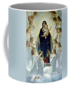 Mary With Angels Coffee Mug