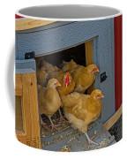 Aunt Mary's Chickens Coffee Mug