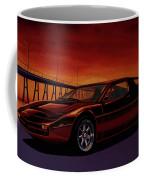 Maserati Merak 1972 Painting Coffee Mug