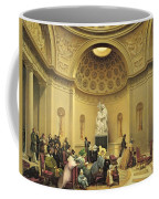 Mass In The Expiatory Chapel Coffee Mug by Lancelot Theodore Turpin de Crisse