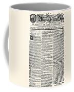 Massachusetts Spy, 1776 Coffee Mug