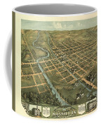Massillon Ohio 1870 Coffee Mug