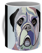 Mastiff In Denim Colors Coffee Mug