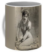 Mata Hari Sketch Coffee Mug