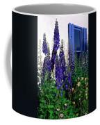 Matching Flowers And  Window Coffee Mug