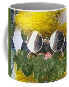 Materials And Eyeglasses Coffee Mug