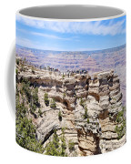 Mather Point At The Grand Canyon Coffee Mug by Julie Niemela