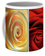 Matters Of The Heart - Diptych Coffee Mug