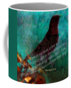 Matthew Six Verse Twenty Six Coffee Mug