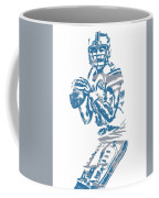 Matthew Stafford Detroit Lions Pixel Art 6 Coffee Mug