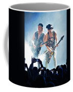 Matthias Jabs And Rudolf Schenker Shredding Coffee Mug