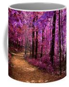 Matthiessen State Park Trail False Color Infrared No 2 Coffee Mug