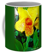 Maui Yellow Floral Coffee Mug
