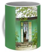 Maupiti Doorway Coffee Mug