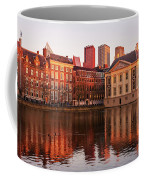 Mauritshuis And Hofvijver At Golden Hour - The Hague Coffee Mug