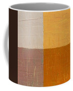 Mauve And Peach Coffee Mug by Michelle Calkins