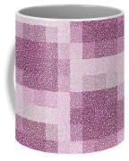 Mauve Plaid Pattern Coffee Mug