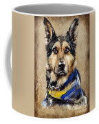 Max The Military Dog Coffee Mug