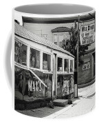 Max's Diner New Jersey Black And White Coffee Mug