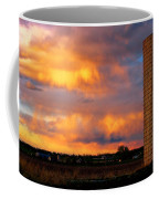 May Day Silo Sunset Coffee Mug