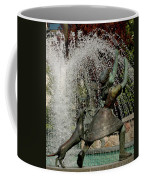 May Pole Girl And Puppy Coffee Mug