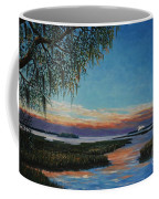 May River Sunset Coffee Mug by Stanton Allaben