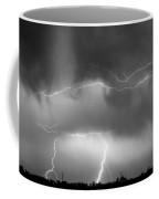 May Showers - Lightning Thunderstorm  Bw 5-10-2011 Coffee Mug