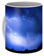 May Showers Two In Color - Lightning Thunderstorm 5-10-2011 Coffee Mug