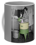 Maytag Woman Coffee Mug by Andrew Fare