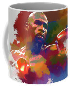 Mayweather Watercolor Coffee Mug
