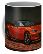 Mazda Mx-5 Miata 2015 Painting Coffee Mug