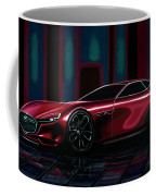 Mazda Rx Vision 2015 Painting Coffee Mug