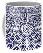 Maze Pattern Coffee Mug