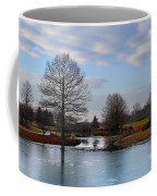 Mcbride Arboretum Winter Morning Coffee Mug