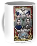 Mcclellan And Pendleton Campaign Poster Coffee Mug