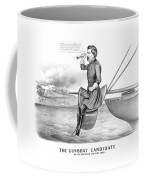 Mcclellan The Gunboat Candidate Coffee Mug by War Is Hell Store