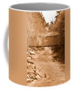 Mcconnells Mill Covered Bridge Sepia Coffee Mug