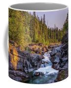 Mcdonald Creek Falls Coffee Mug