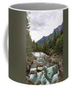 Mcdonald Falls - Glacier Coffee Mug