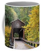 Mckee Bridge In Fall Coffee Mug