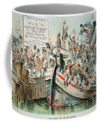 Mckinley Cartoon, 1896 Coffee Mug