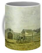 Mcpherson Barn And Cannon Gettysburg  Coffee Mug