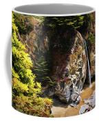 Mcway Falls Painting Coffee Mug