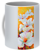 Meadow Angels - White Poppies Coffee Mug