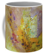 Meadow Flowers Abstract Coffee Mug