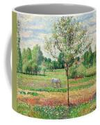 Meadow With Grey Horse, Eragny Coffee Mug