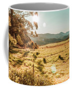 Meadows And Mountains Coffee Mug